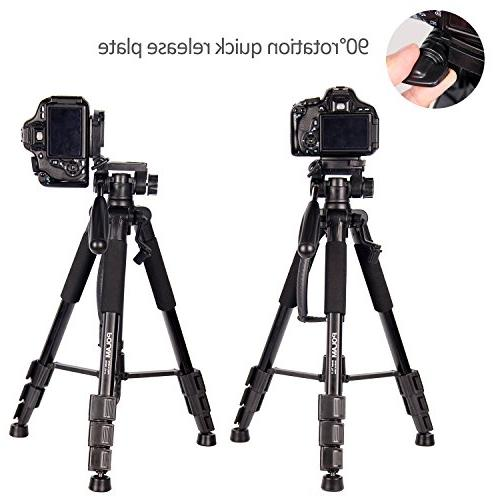 POLAM-FOTO Camera Tripod,Compact Level,Lightweight Carry Bag