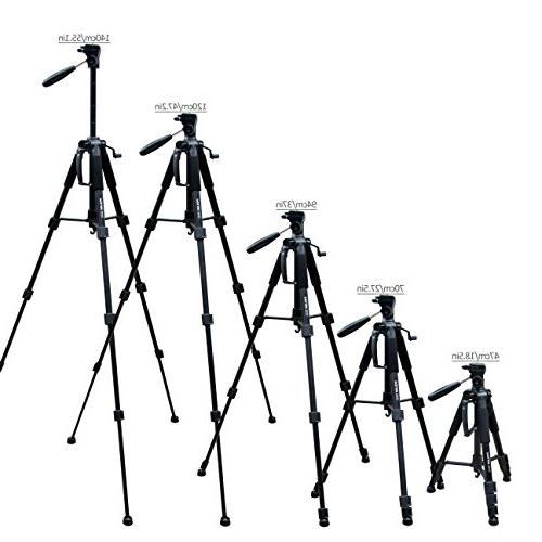 POLAM-FOTO Tripod,Compact Tripod with Carry DSLR/SLR fits with