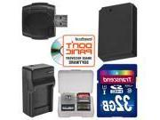 LP-E12 Battery & Charger + 32GB SD Card Essential Bundle for