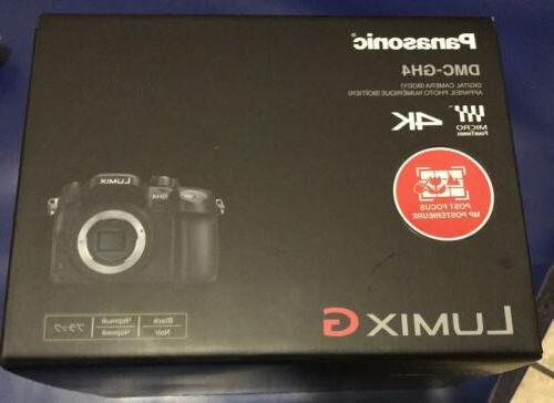Panasonic G DMC-GH4K 16.05MP Camera Body