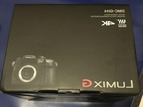 Panasonic DMC-GH4K 16.05MP DSLR Camera Body
