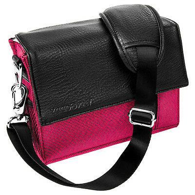 Magenta Camera Carrying Bag For GoPro