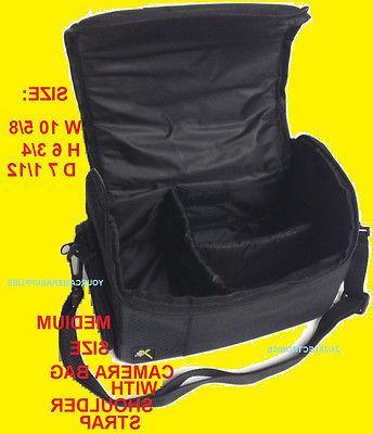 DSLR Large Padded Case/Bag for Cameras Camcorders for Sony N
