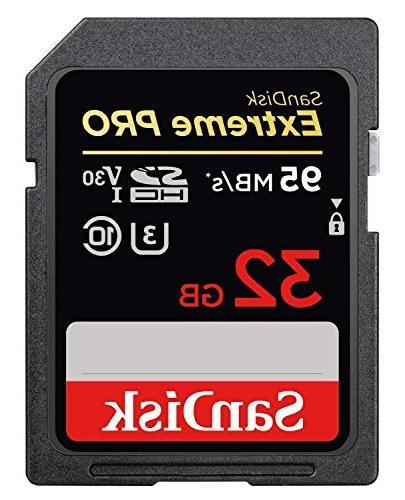 SanDisk Extreme Memory works Nikon D5500, D5300, D500, W100, Camera SDHC 4K UHS-I with Everything Stromboli Reader