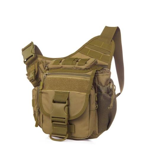 Men's Shoulder SLR Camera Bag Hiking Camping
