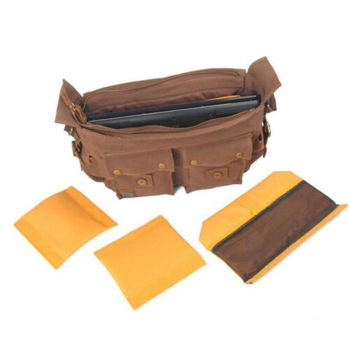 Men's Messenger DSLR Camera Bag