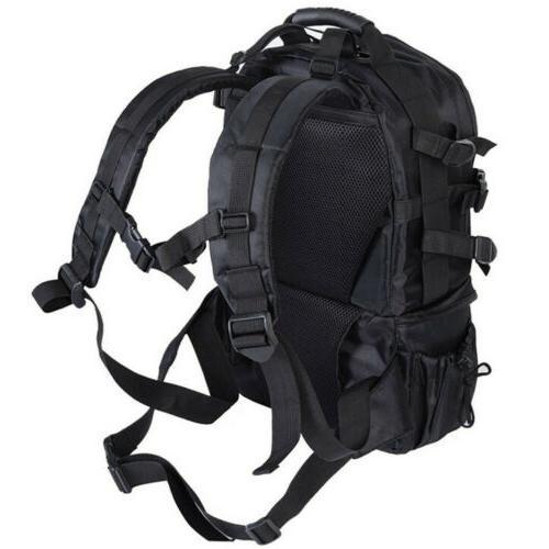 Men Women DSLR Backpack Bag Large w/ Cover