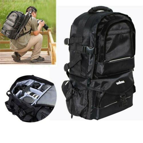 Men Women DSLR Backpack Large