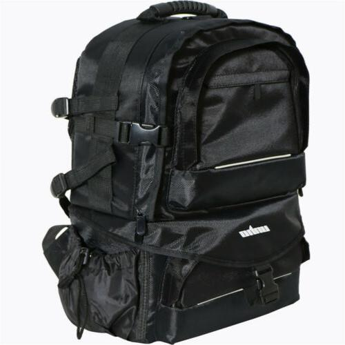 Men Women DSLR Backpack Case Large w/ Cover