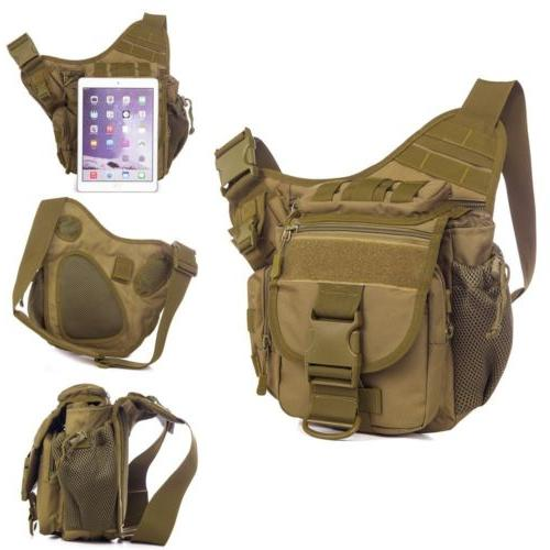 mens tactical military messenger shoulder slr camera
