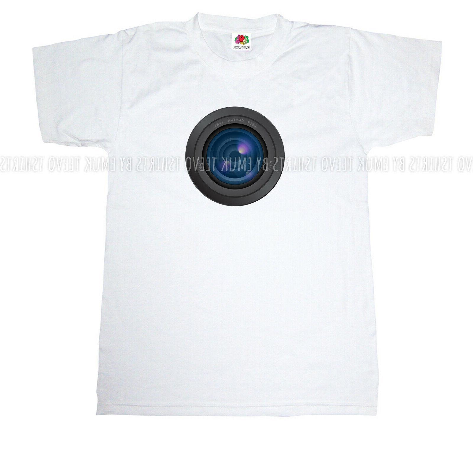 Mens Womens DSLR Lens Photography S-5XL