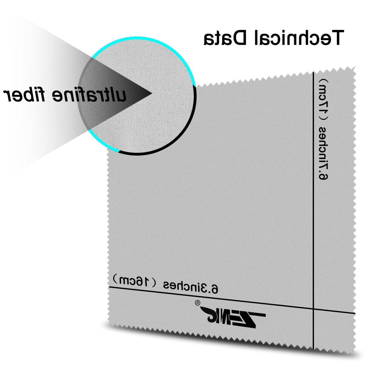 6PACK Cloths Soft DSLR Lens LCD Screen