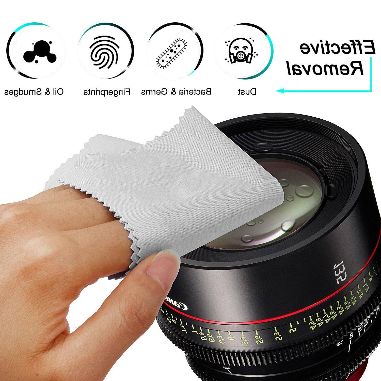 6PACK Microfiber Lens TV Screen