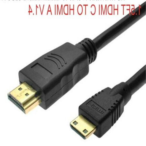 HDMI male to Mini HDMI Video Cable  for Nikon Coolpix camera