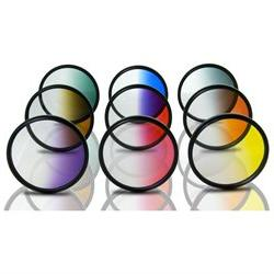 Opteka 72mm HD Multicoated Graduated Color Filter Kit For Di