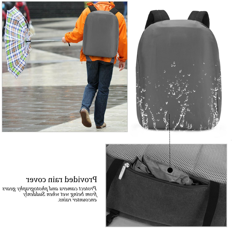 Multifunction DSLR/SLR/Laptop Camera Bag Women/Men