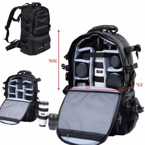 multifunctional deluxe camera backpack bag case sony