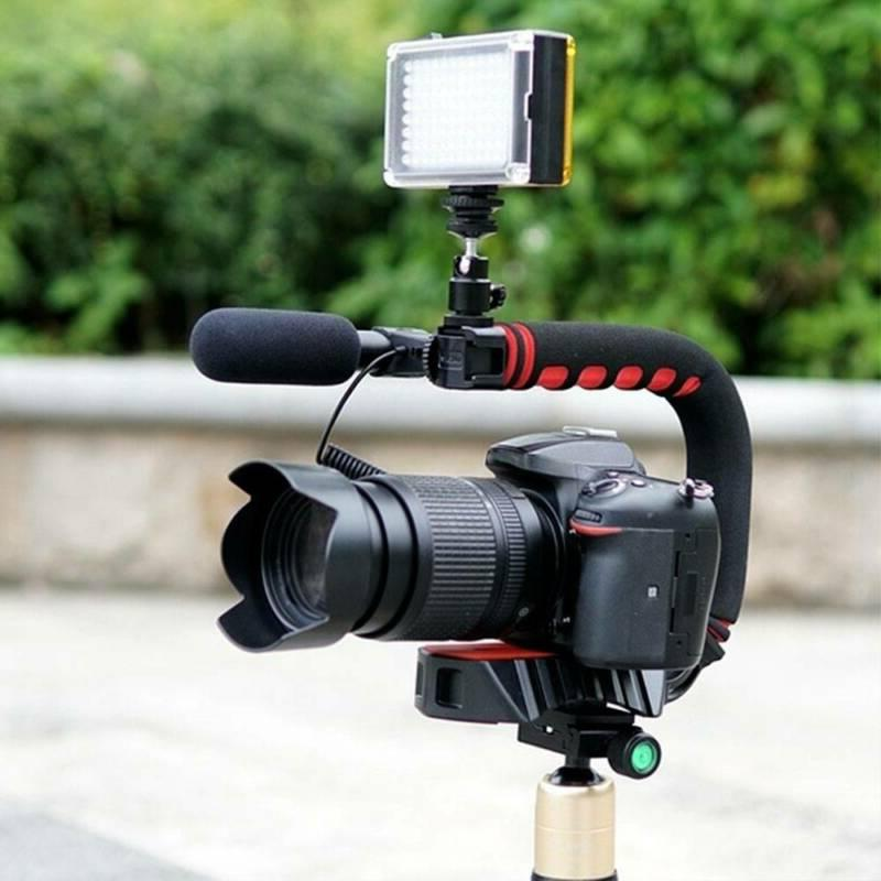 Video Stabilizer Action Dslr Grip Phone Triple Shape