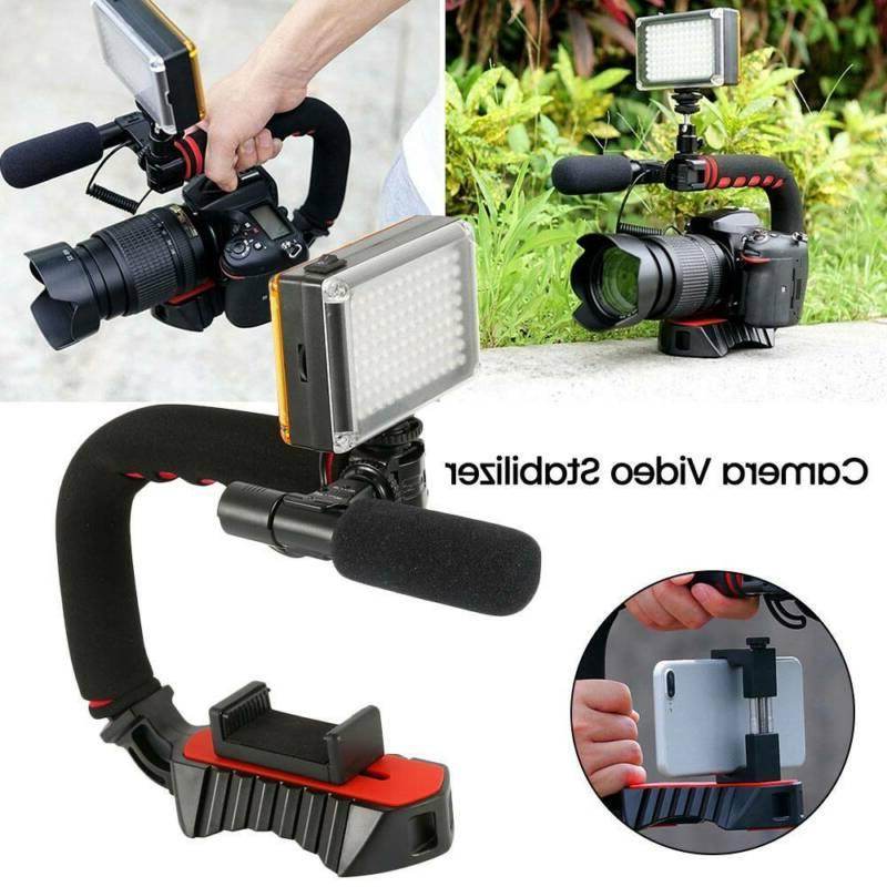 Video Stabilizer Camera Phone Triple Shape
