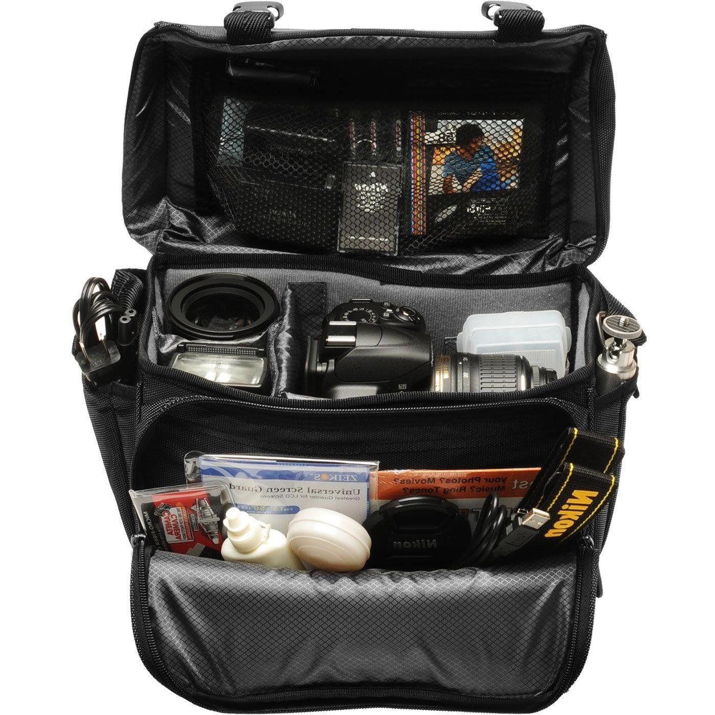 NEW Nikon Deluxe Gadget Bag DSLR Camera