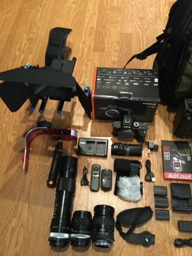 NEWSony Full Camera wMATTBOX