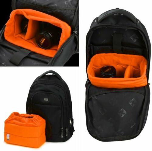 New SLR Bag Partition Padded Protection Case for Canon Nikon
