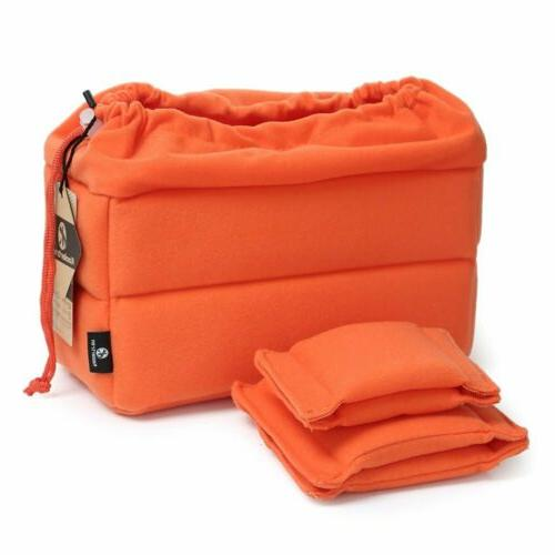 new dslr slr camera bag partition padded