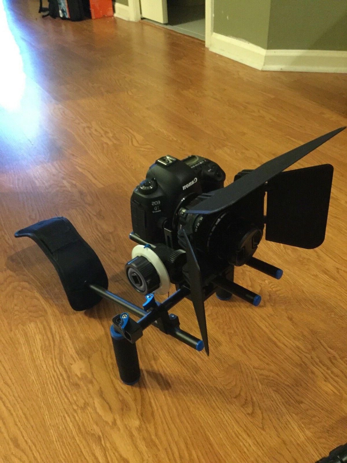 NEW EOS Mark Digital SLR Camera W/3Lens W/MATTE