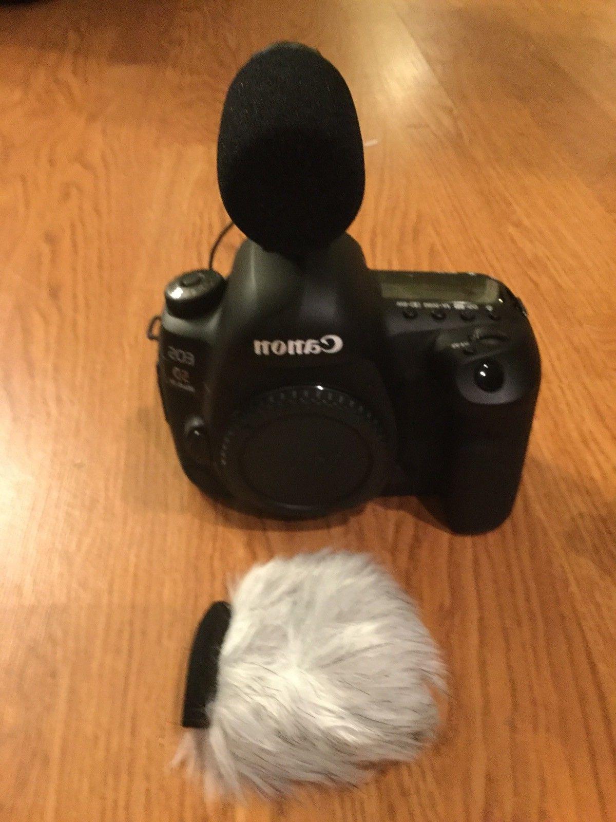 NEW Canon Mark 30.4 MP Digital SLR W/3Lens W/MATTE