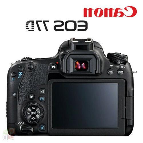 NEW EOS 77D Camera