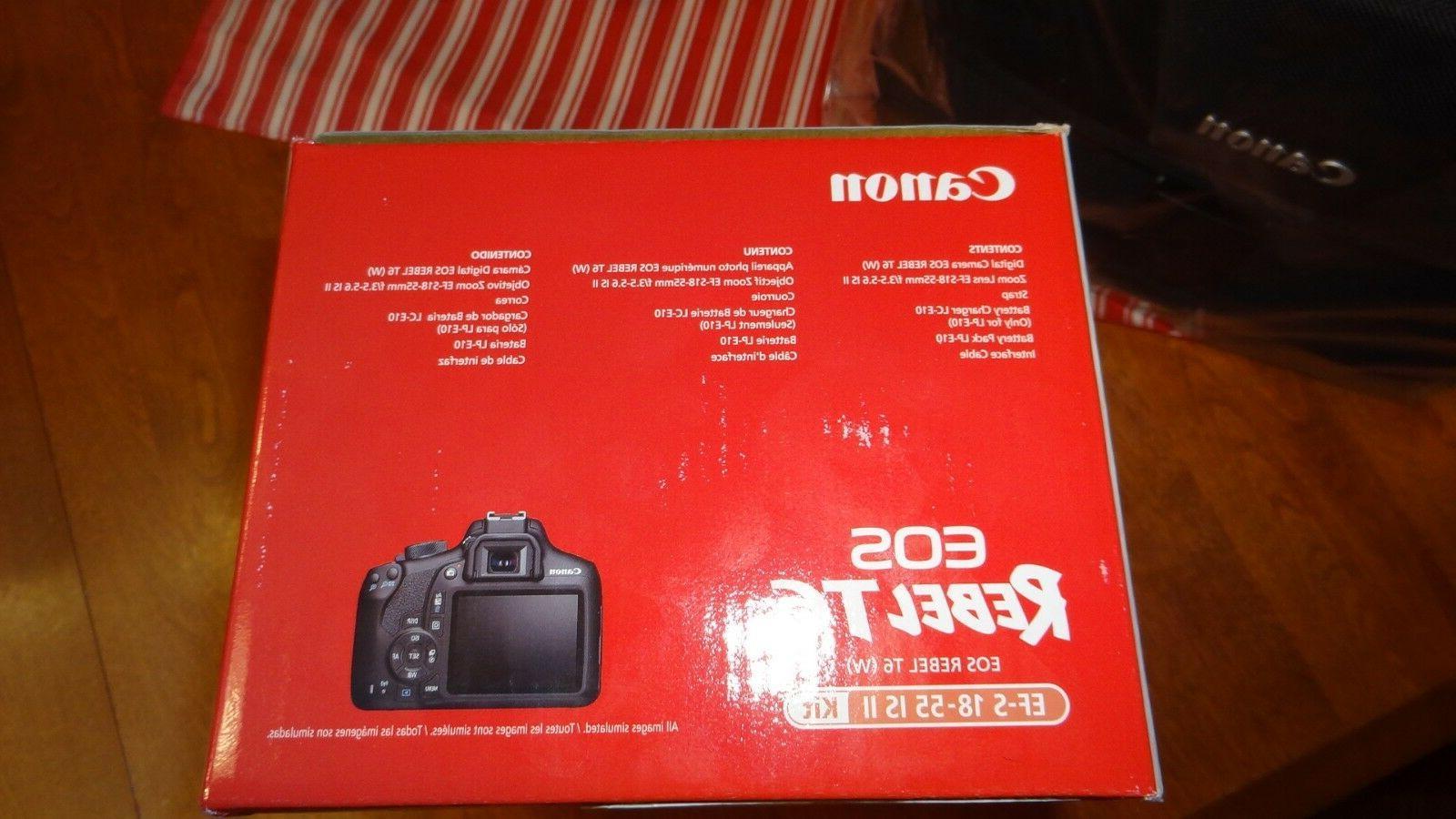 New EOS Rebel Camera Lens Bag WiFi