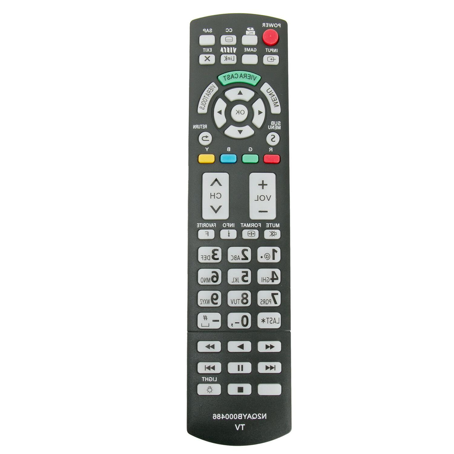 New N2QAYB000486 Replaced Remote Control for Many Panasonic