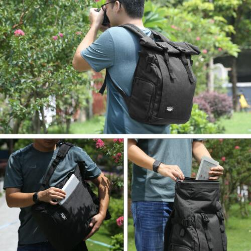 Camera Case Backpack For Canon Sony