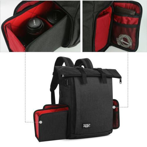 New DSLR Shockproof Camera Case Shoulder Bag Backpack For Canon Nikon Sony