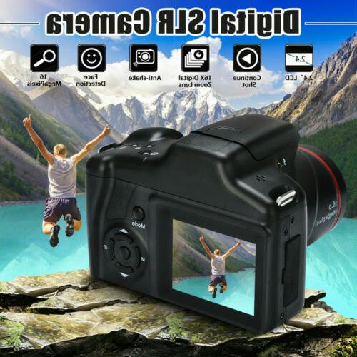 Newest Digital 2.4Inch LCD 1080P 16X Zoom Anti-shake I2C7S