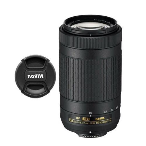Nikon AF-P DX NIKKOR 70-300mm f/4.5-6.3G ED VR Lens 20062 fo