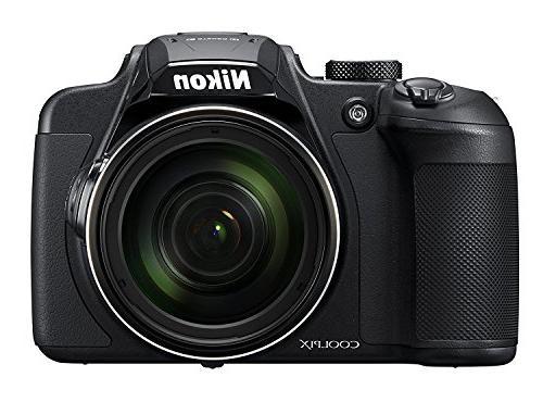 Nikon B700 20.2 Super Digital Camera Bundle Set w/ Euro Adapter etc