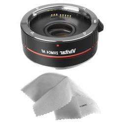 Nikon D3200 2x Teleconverter 4 Elements Nwv Direct Microfibe