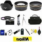 Nikon D3300 D3200 D5300 D5200 D5100 DSLR Camera Bag Tripod A