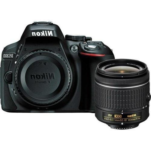 Nikon D5300 Camera VR Kit Filter +