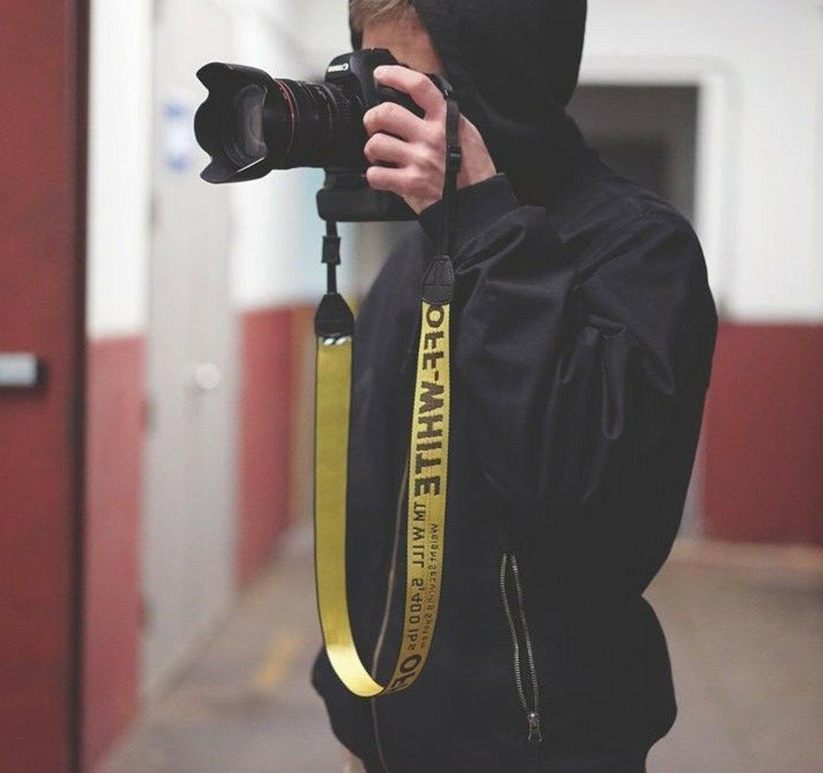 OFF WHITE Industrial Belt Strap Supreme Gold Yellow Fit any