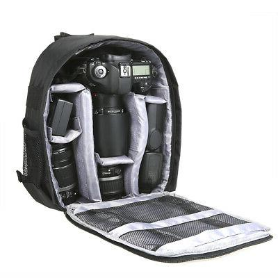 Outdoor Small DSLR Digital Camera Video Backpack Waterproof
