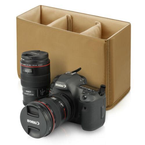 Padded Camera Lens Bag Inner Insert Camera Bag