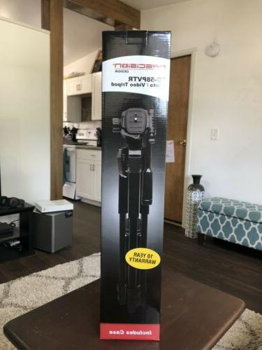 pd 58pvtr photo video tripod includes case