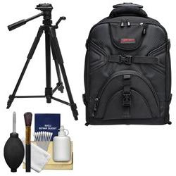 Precision Design PD-BPT DSLR Camera Backpack with Wheels wit