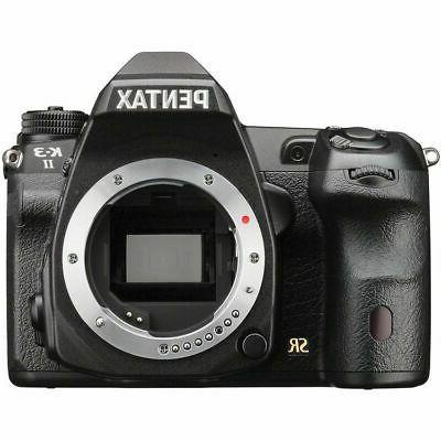 Pentax K-3 II 24.35 MP Digital SLR Camera Body Only
