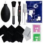 Photo Camera Cleaning Blower Brush Cloth Kit Cleaning Set fo