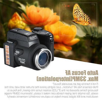 POLO HD 33MP Digital Video LED