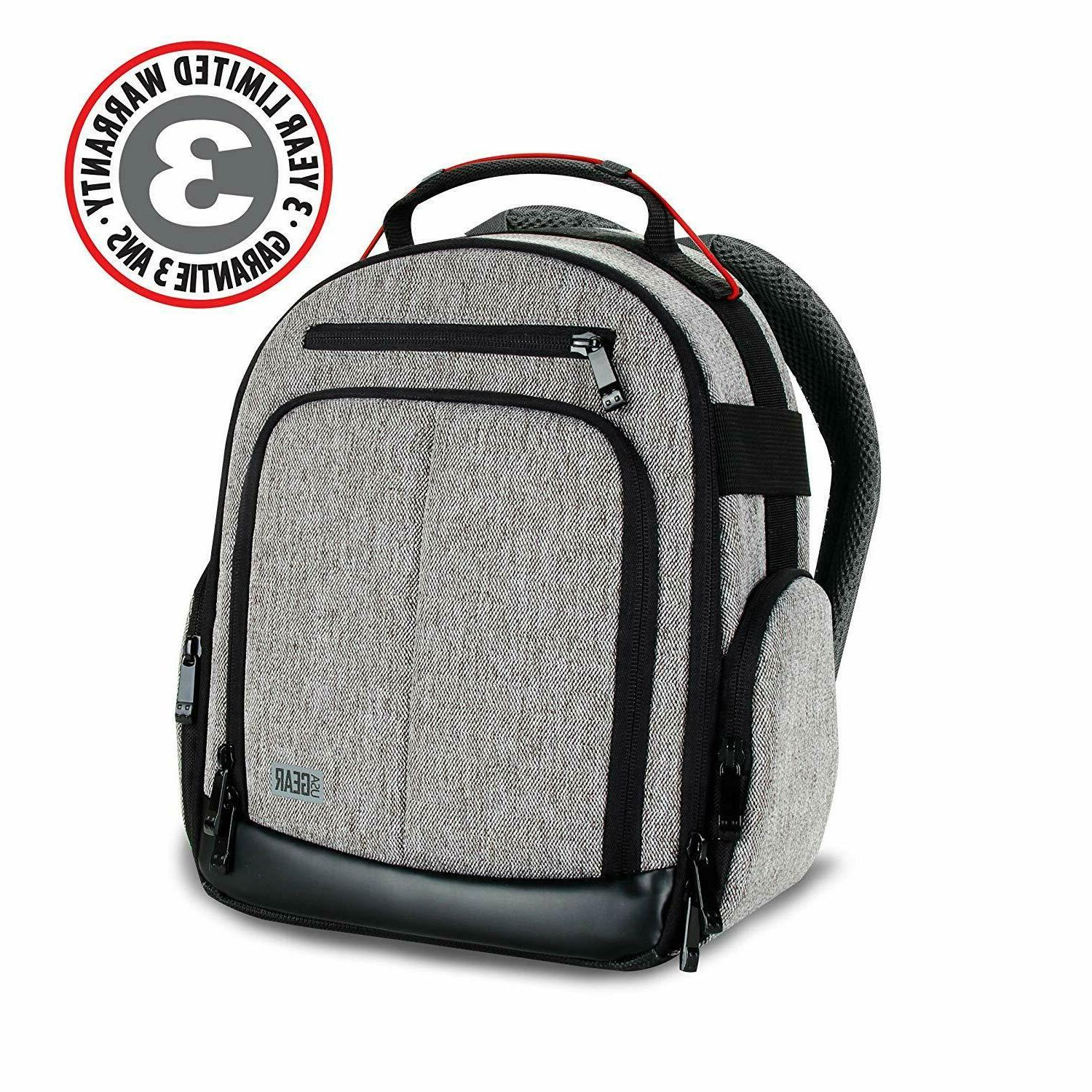 USA GEAR Portable Backpack for w/ Customizable