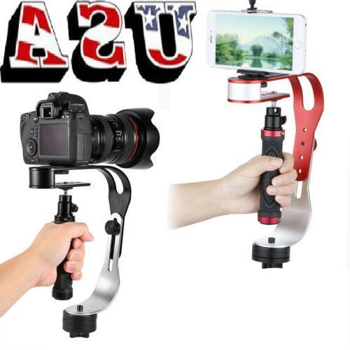 Mini Handheld DSLR Camera Stabilizer Support Canon Nikon Son